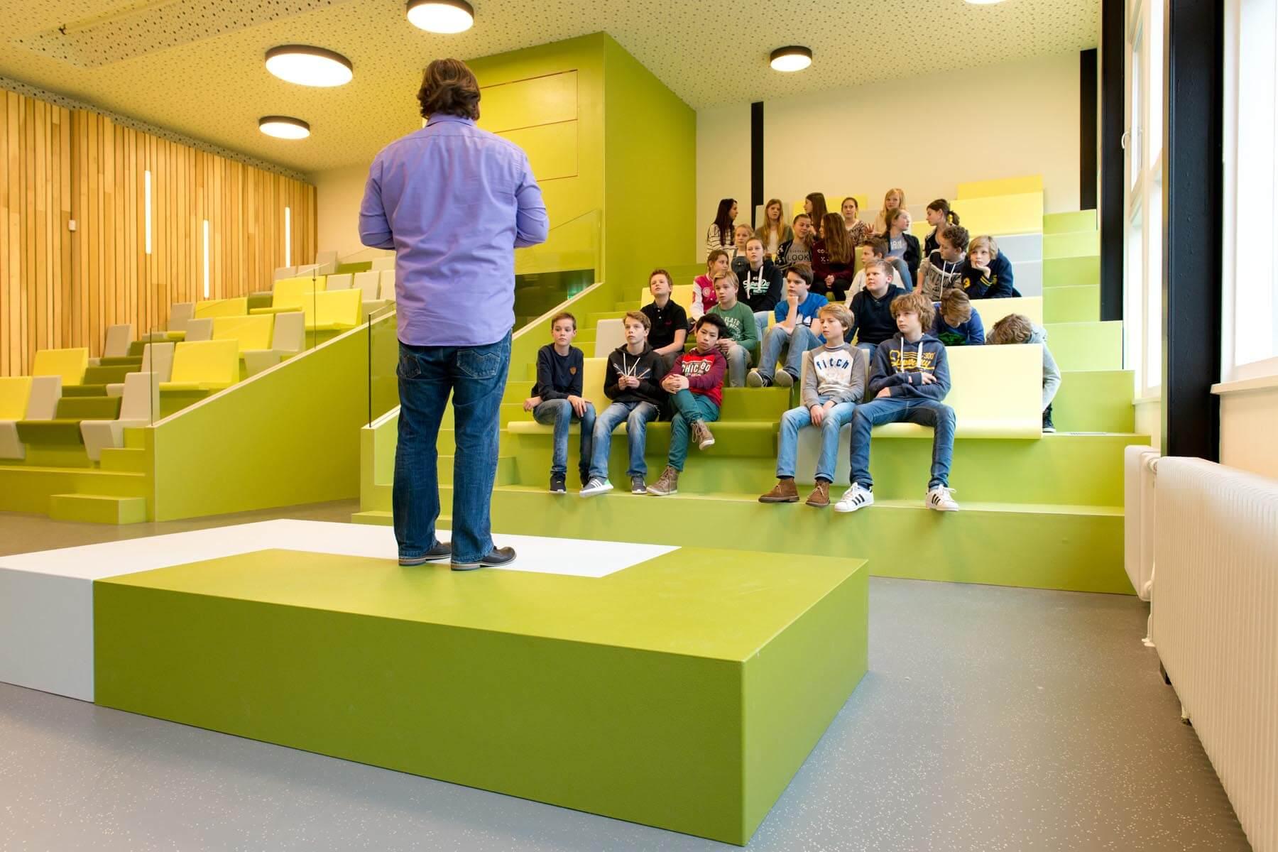 Revitalisatie Maerlant Lyceum, Den Haag - 4