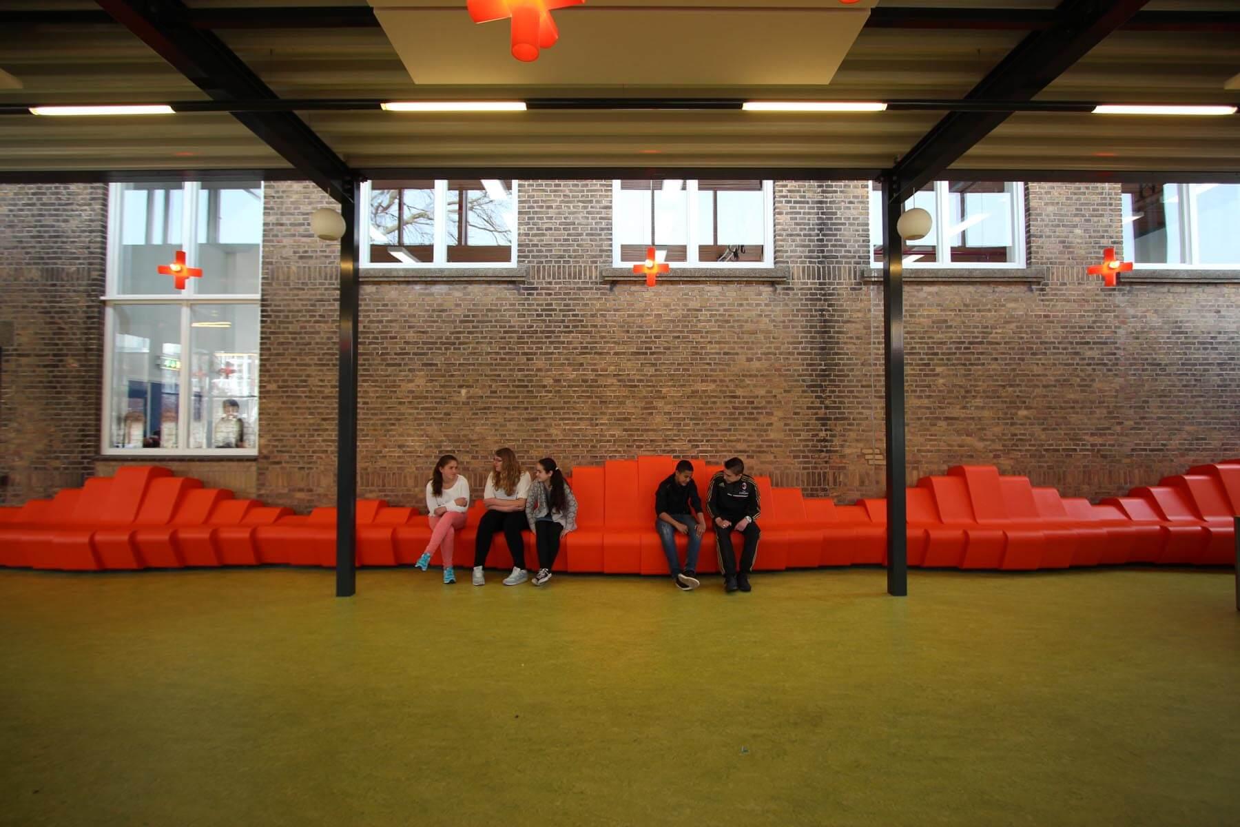 Aanbouw aula VMBO Statenkwartier, Den Haag - 1
