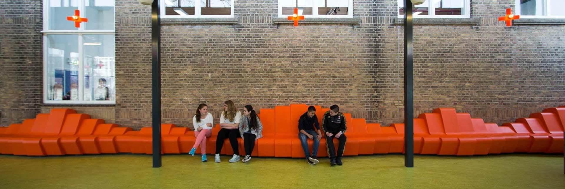 Aanbouw aula VMBO Statenkwartier, Den Haag