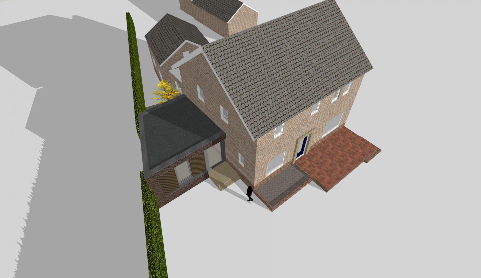 Uitbouw Litserstraat, Den Dungen - 5