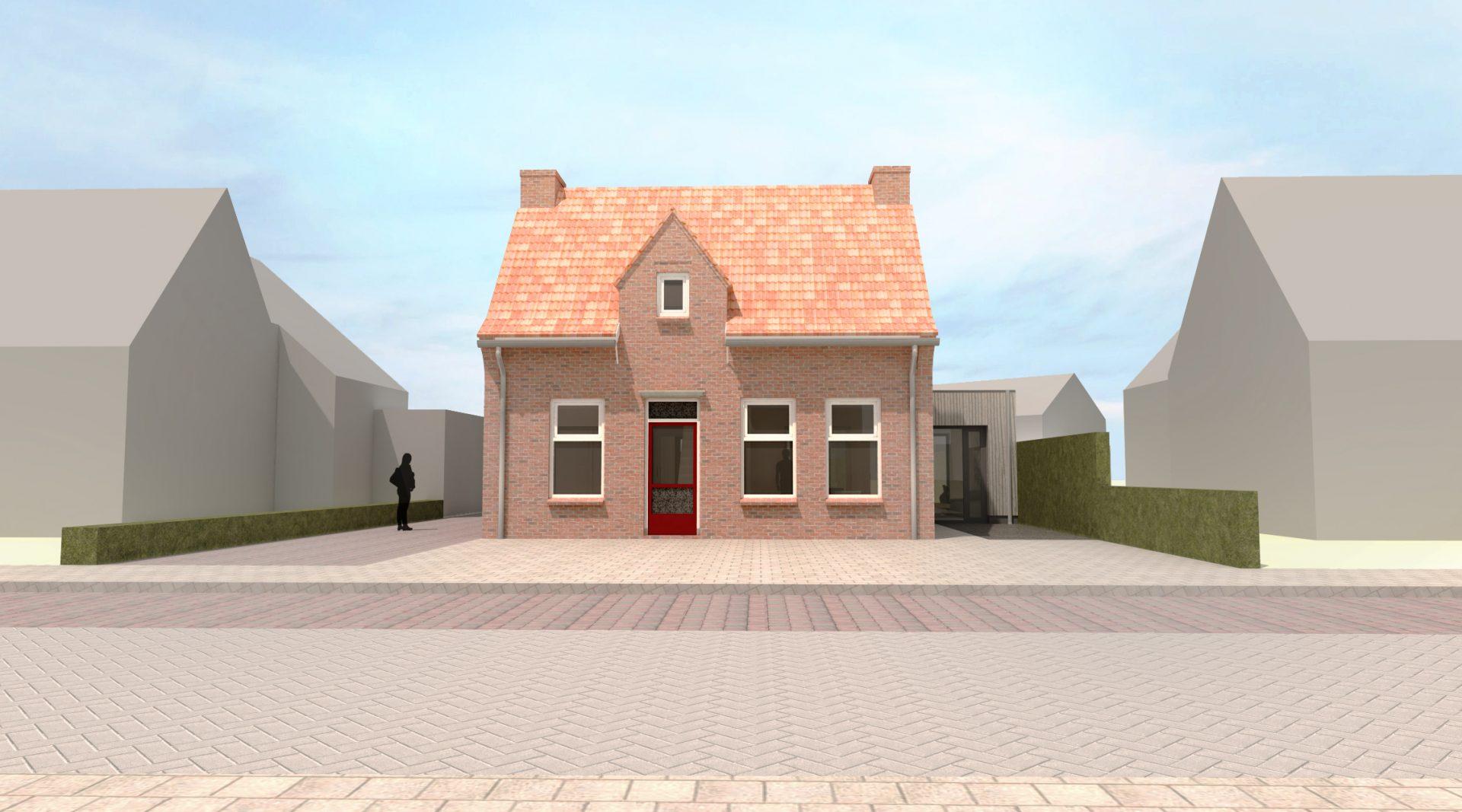 Moderne uitbouw Maliskamp, Rosmalen