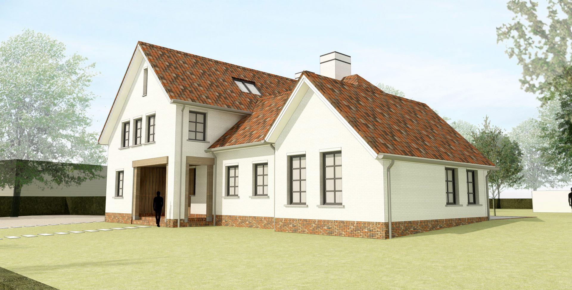 Nieuwbouw landelijke villa, Son