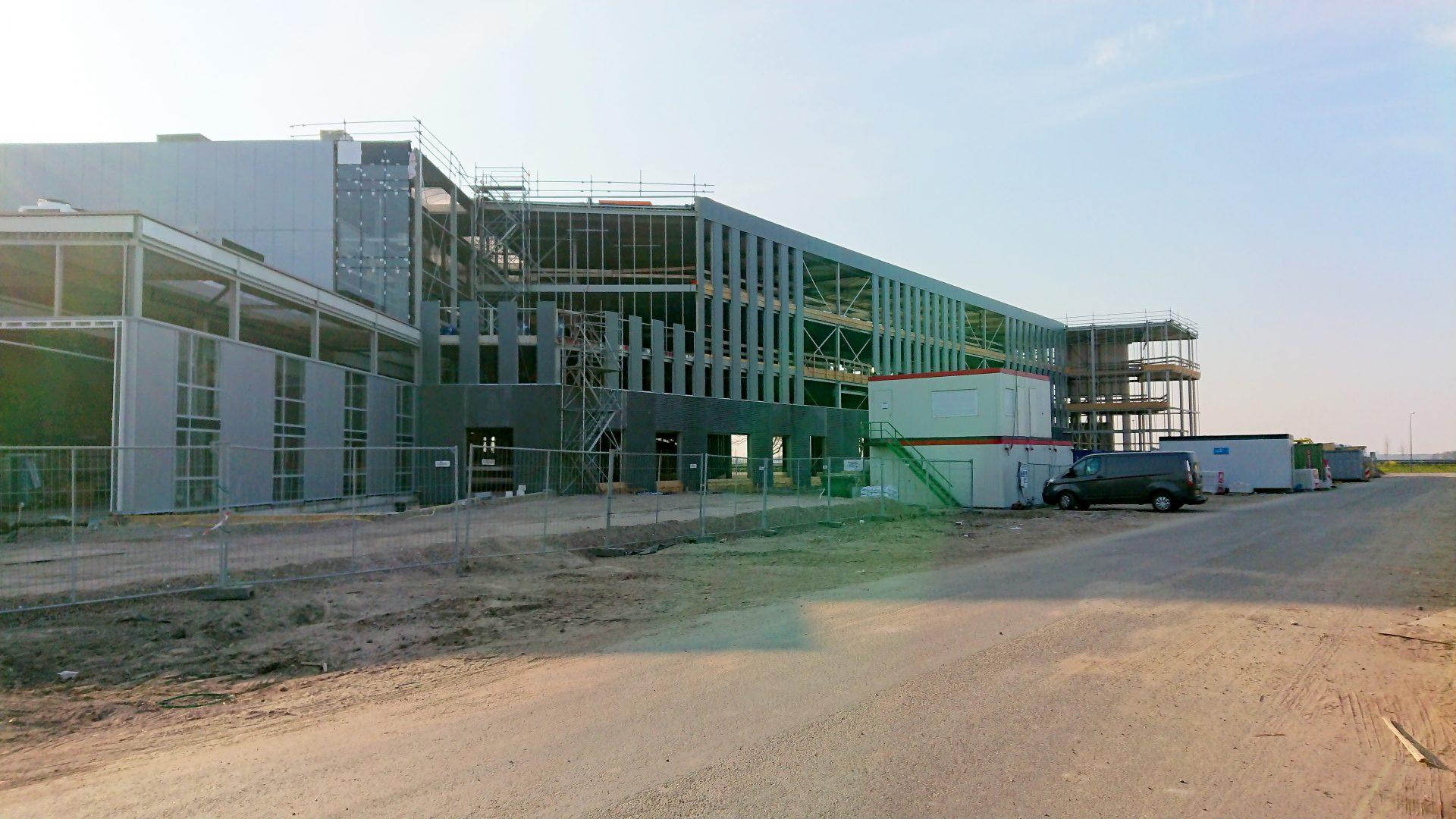 Nieuwbouw bedrijfspand Tacx, Oegstgeest