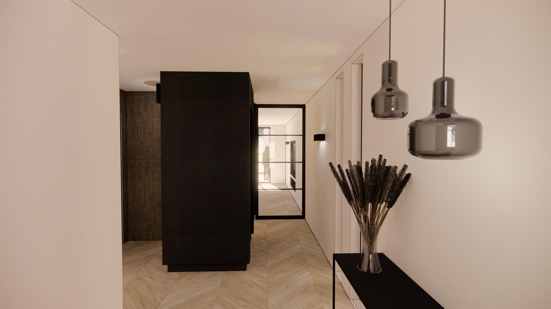 Interieur moderne villa, Rosmalen